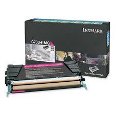 <b>Картридж Lexmark</b> C736H1MG пурпурный для принтера <b>Lexmark</b> ...