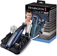 <b>Remington</b> GroomKit Lithium Styling Kit for Face and Body Hair ...