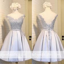 Cheap <b>Sheer</b> Scoop Lace Appliques Mini Homecoming Dresses ...