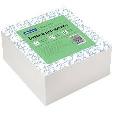 Блок для записи, 9x9x4,5 см, белый   Купить с доставкой   My ...