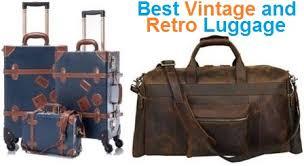 Top 15 Best <b>Vintage</b> and <b>Retro</b> Luggage in <b>2019</b> | Travel Gear Zone
