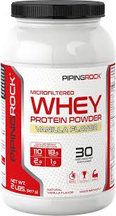 <b>Whey Protein</b> Vanilla <b>2</b> lbs (907 g) | All <b>Natural Whey Protein</b> | Piping ...