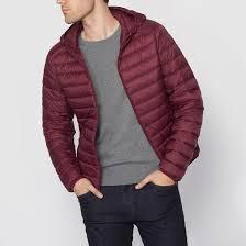 <b>Куртка стеганая</b> тонкая с натуральным наполнителем бордовый ...