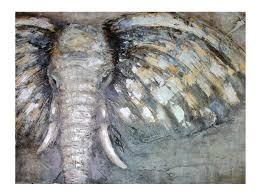 <b>Репродукция в раме</b> 123x83 см Hoff Слон купить, цены в Москве ...