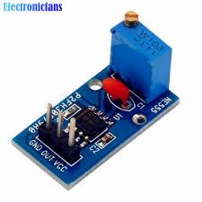 <b>3PCS NE555 pulse frequency</b> duty cycle adjustable module
