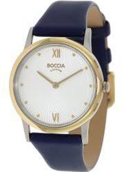 Купить <b>женские</b> наручные <b>часы Boccia titanium</b> (Боча титаниум)