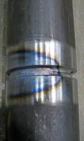 the blue area results from oxidation at a corresponding temperature of 600 f 316 c this is an accurate way to identify temperature description of a welder