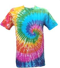 <b>Tie Dye Rainbow</b> Spiral 700501 T-Shirt: Amazon.co.uk: Clothing