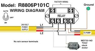 how to wire intermatic sprinkler and irrigation timers and manuals intermatic r8806p101c timer wiring