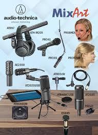 <b>Микрофоны AUDIO</b>-<b>TECHNICA</b> для широкого круга задач ...