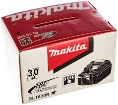 <b>Аккумулятор</b> 18 В, 3.0 Ач, Li-Ion <b>Makita</b> BL1830B 197599-5 - цена ...