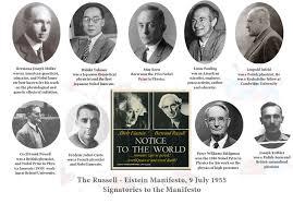 「Russell-Einstein Manifesto」の画像検索結果
