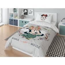 Комплект постельного белья Minnie 1,5 сп, поплин, <b>Mickey</b> gray ...
