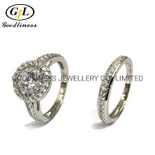 China <b>Fashion Jewelry 925</b> Sterling Silver Engagement Wedding ...