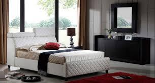 coco white bed black white furniture