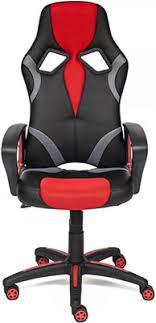 <b>Кресло Tetchair RUNNER ткань</b>, черный/красный, 2603/tw08/TW-12
