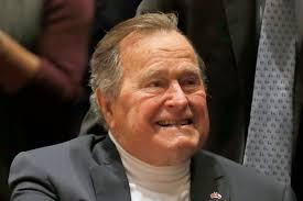 Image result for George HW Bush, 91, falls at Maine home, breaks bone in neck