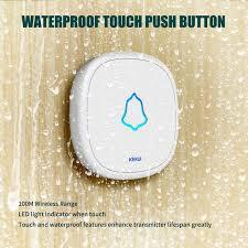 <b>KERUI F52 Wireless Touch</b> Doorbell Smart Receiver Home Gate ...