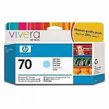 Картридж <b>HP</b> Vivera <b>70</b> Light Cyan 130 мл (<b>C9390A</b>) купить: цена ...