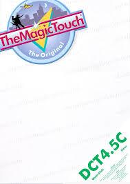 <b>DCT</b> 4.5 C Transfer Paper A4 Box of 50 Sheets - <b>The Magic Touch</b>