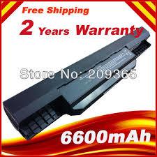 <b>7800mAh</b> 9 Cells Laptop <b>Battery For Asus</b> K53S K53 K53E K43E ...