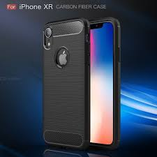 ASLING <b>Carbon Fiber TPU</b> Phone Case For iPhone XR Protection ...