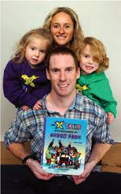my first interview the x tails here s one way to inspire reading for those adventurous young children local author larry fielding and his family spend many hours travelling to and from