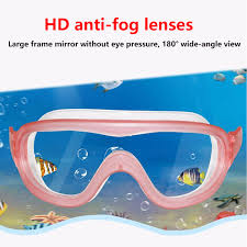 <b>Big Frame</b> Anti Fog Swimming Goggles <b>kids</b> Professionals HD ...