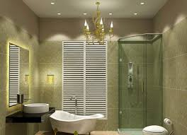 chic semi flash style overhead bathroom lighting with block shaped glass materials lamp shades ornament design and modern metal chrome materials round ceiling bathroom lighting