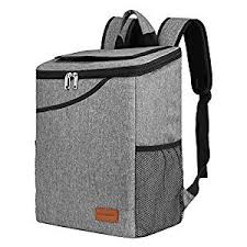 Amazon.com : Insulated Backpack Cooler Bag, Large <b>Capacity</b> 24 ...