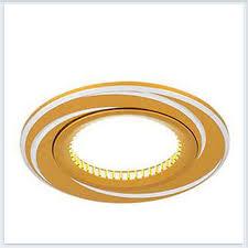 <b>Светильник</b> встраиваемый <b>Gauss Aluminium AL015</b> Золото Хром