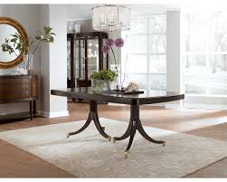 Thomasville Dining Room Set Double Pedestal Dining Table Dining Room Furniture Thomasville