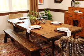 Stripping Dining Room Table Interior Rectangle Light Brown Wooden Table With Long Brown Wooden