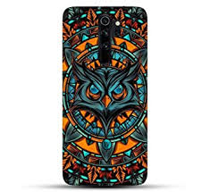 Outlouders Funky Cool <b>Angry Owl</b> Abstract Pattern: Amazon.in ...