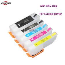 CISSPLAZA 5color <b>T3351</b> T3361 T3364 compatible ink cartridge for ...