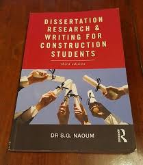 Dissertation writing and research for construction students     Dissertation writing and research for construction students