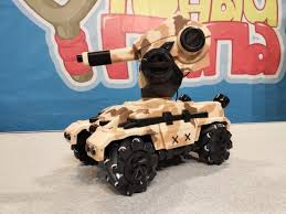 <b>Танк</b>-<b>робот MX RoboMaster</b> (3D дрифт, стреляет гелевыми пулями)
