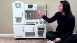 Red Retro Kitchen Accessories Kidkraft White Vintage Kitchen Youtube