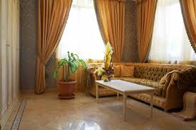 curtains for formal living room full imagas orange formal living room drapery on the wide glasses windows with white coffee table