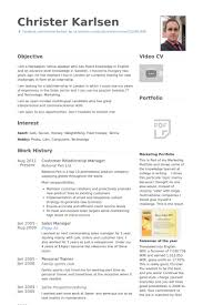 relationship manager resume samples   visualcv resume samples databasecustomer relationship manager resume samples