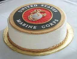 Image result for 240th birthday cake USMC