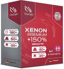 """<b>Лампа автомобильная</b> ксеноновая <b>Clearlight</b> """"Xenon Premium+ ..."""
