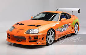 Buy It! The iconic Toyota Supra from 'Fast & <b>Furious</b>' to be auctioned ...