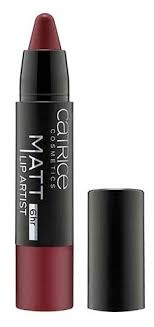 CATRICE <b>Помада</b>-<b>карандаш для губ</b> Matt 6hr <b>Lip</b> Artist матовая ...
