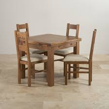 delivery dorset natural real oak dining set: extending  rustic solid oak dining set ft extending table with  farmhouse and plain beige fabric chairs ffdccba