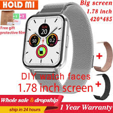 <b>DTX Smart</b> watch big screen 1.78 inch 420*485 IP68 <b>ECG</b> ...