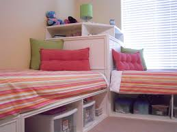 Bedroom For Two Twin Beds Twin Storage Beds And Modified Corner Unit Secret Storage My