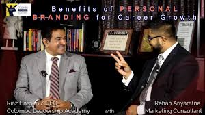 colombo leadership academy riaz hassen and rehan ariyaratne on colombo leadership academy riaz hassen and rehan ariyaratne on developing your personal brand