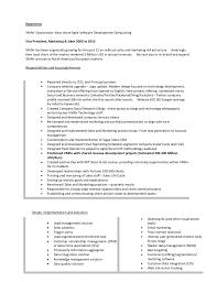 resume of lonnie mcrorey international sales marketing product manag 3 junior product manager resume