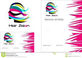 nails salon logo stock vector image  hair salon modern logo business card 2 x 3 5 flyer 4 25 x 5 5 royalty